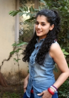 Tapsee Photo Stills in Blue Jeans