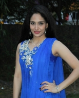 komal-sharma-beautiful-cute-stills-in-sleeveless-blue-churidar-dress_ad1ba7e4