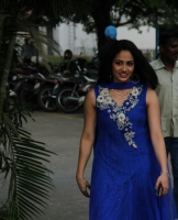 komal-sharma-beautiful-cute-stills-in-sleeveless-blue-churidar-dress_ff625faa