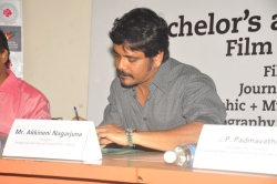 Akkineni Nagarjuna Signs AISFM Film School With JNAFU Pictures