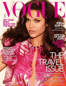 Esha Gupta Hot Pics On Vogue Magazine April 2013