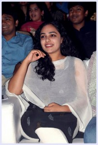 Nitya menon Latest Photos at Gunde Jaari Gallanthayyinde Audio Launch