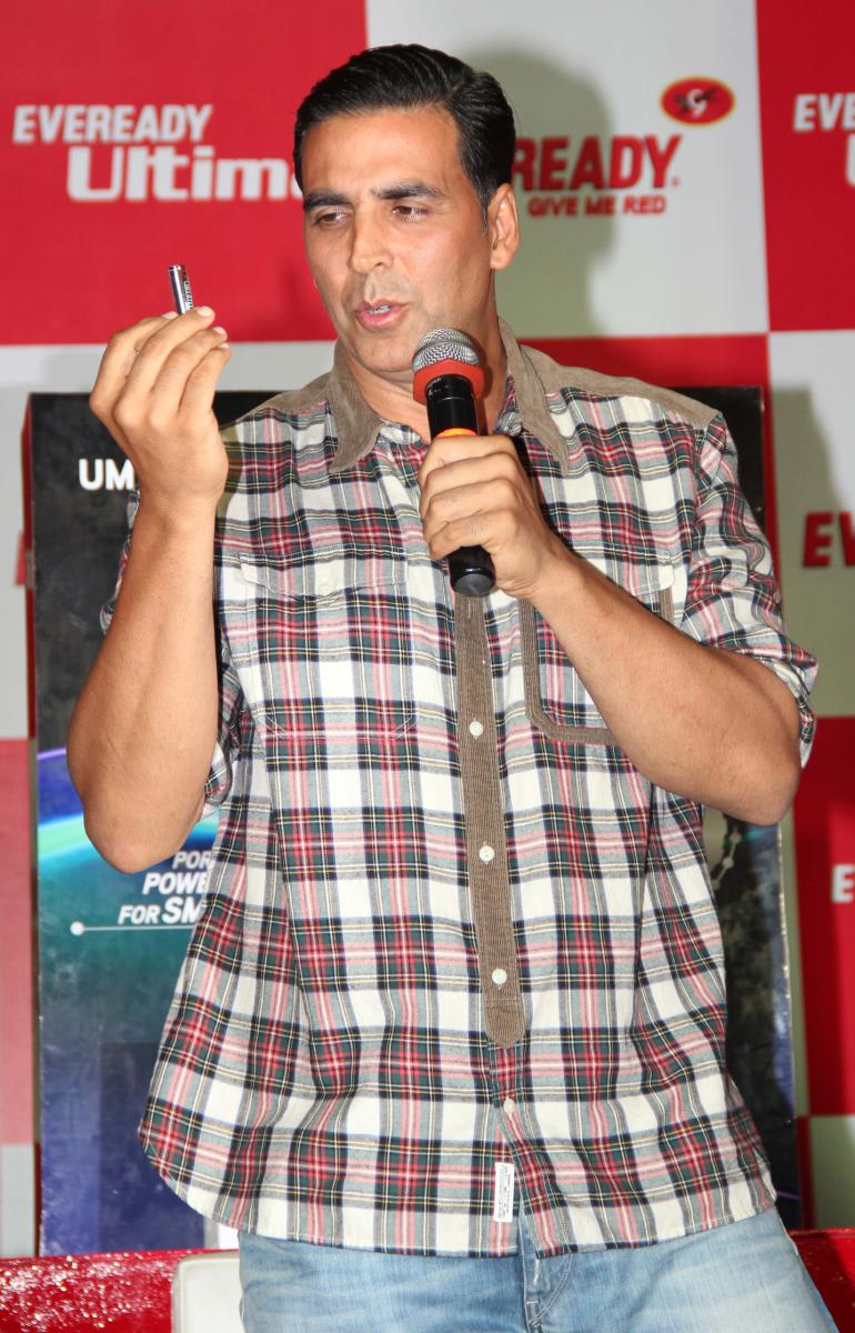 Akshay Kumar launches Eveready New Products Gallery