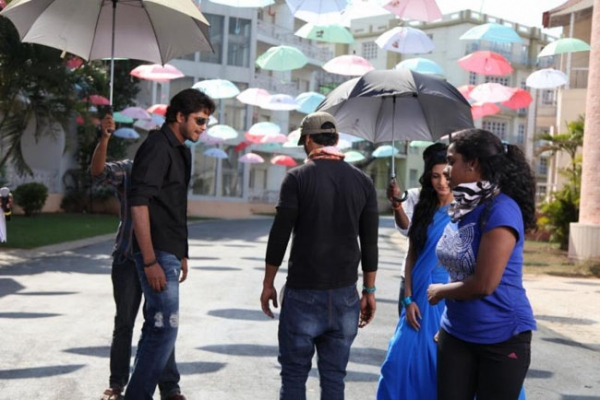 Allari Naresh Action 3D Movie working Stills