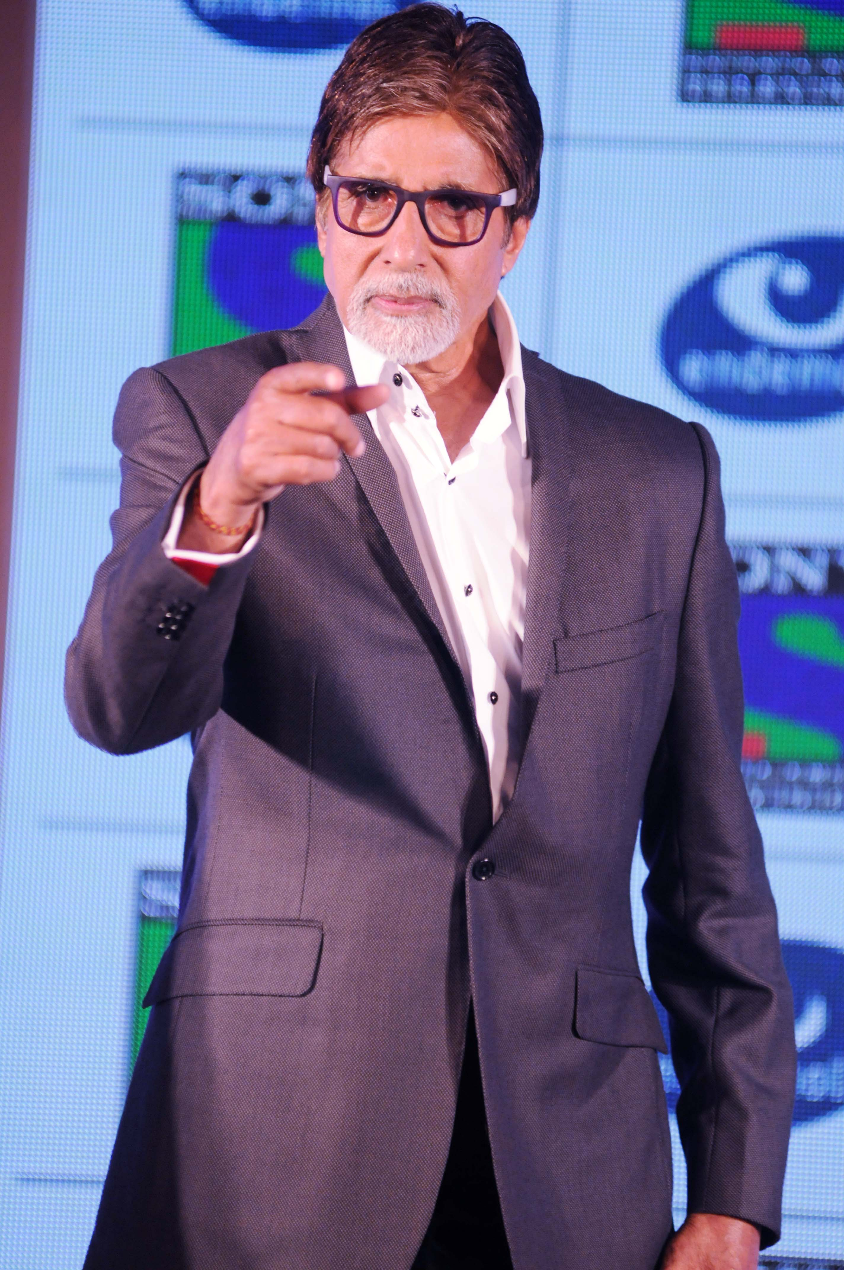 Amitabh Bachchan at New TV show Press Meet Photos