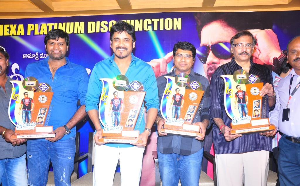 Greeku veerudu hexa platinum disc event photos