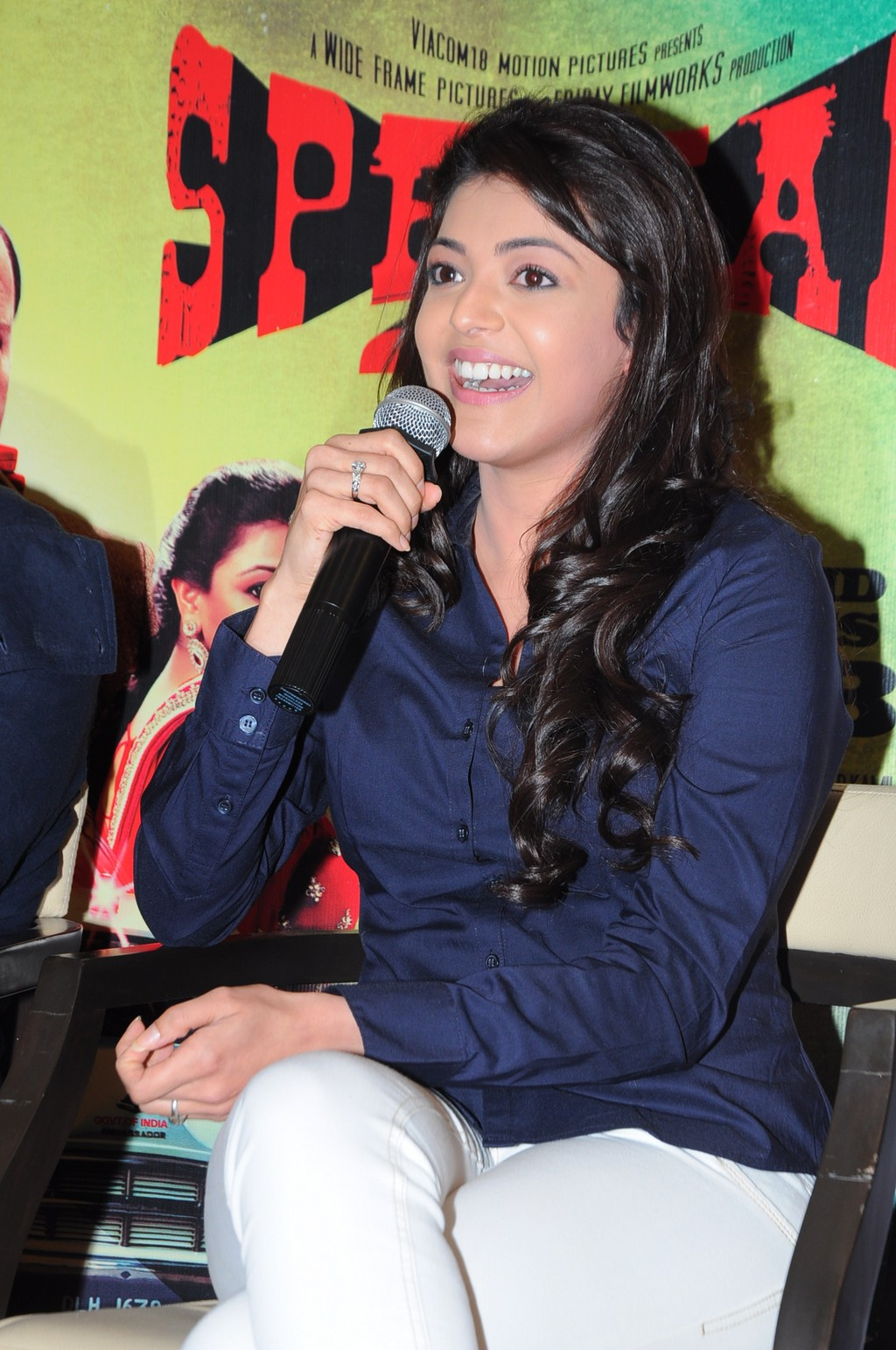 Kajal Agarwal At Special 26 Movie PM