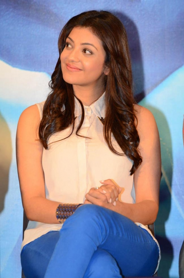 Kajal Agarwal Latest Photos At Baadshah Success Meet