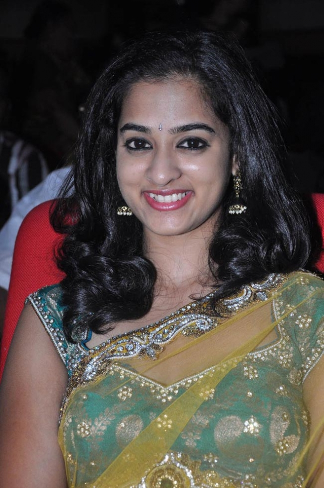 Nanditha Latest Hot Photos in Transparent Saree At Prema Katha Chitram Audio Launch