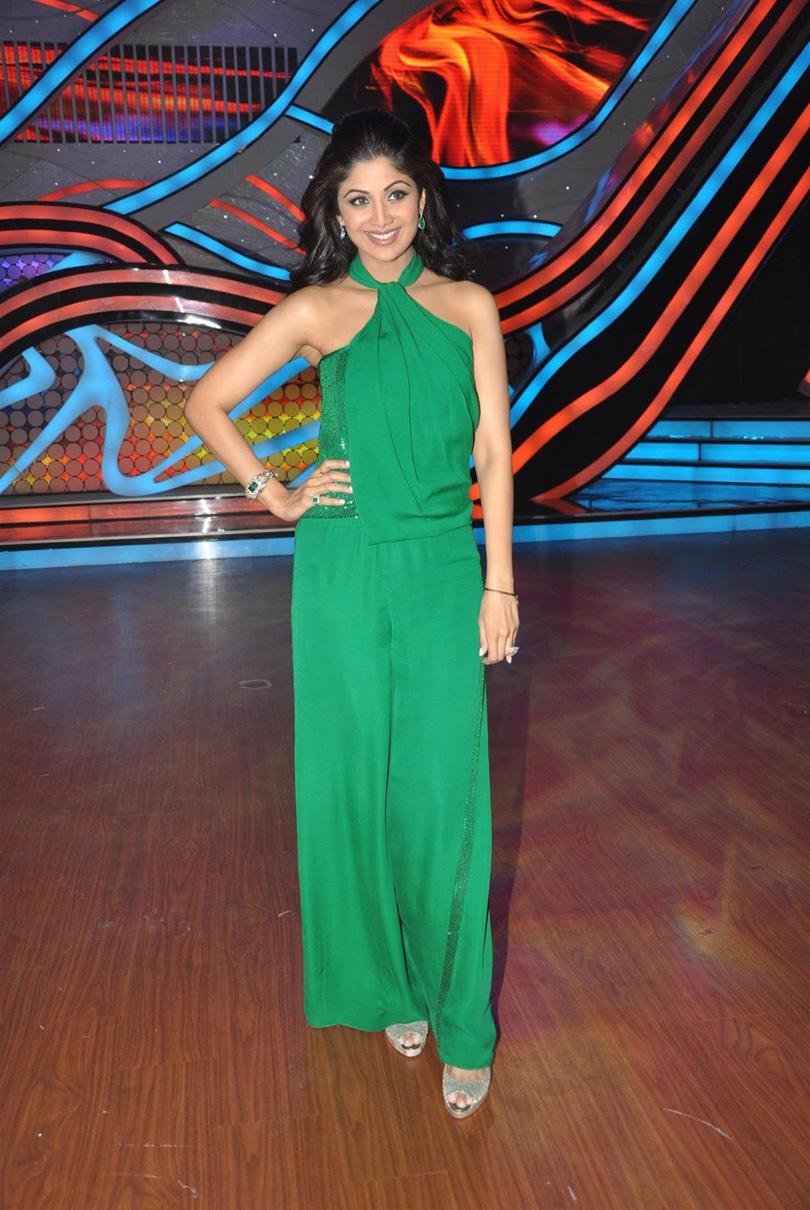 Shilpa Shetty On The Sets Of Nach Baliye 5