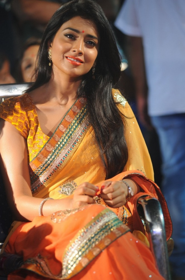 Shriya Saran Latest Photos At Pavitra Movie Audio Launch