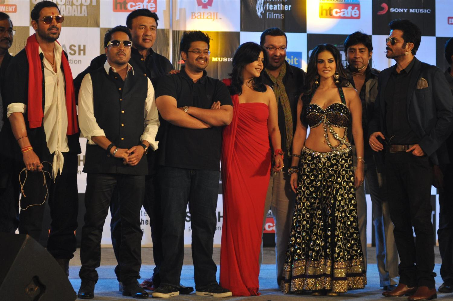 Sunny Leone, Sophie at Shootout at Wadala Music Launch