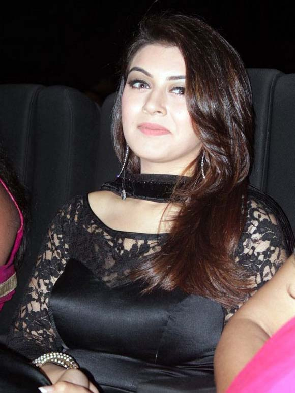 Hansika Motwani Latest Hot Photos at Theeya Velai Seiyyanum Kumaru Audio Launch