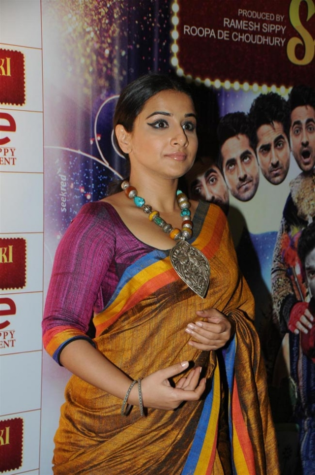 Vidya Balan Latest Photos at Nautanki Saala Special Screening